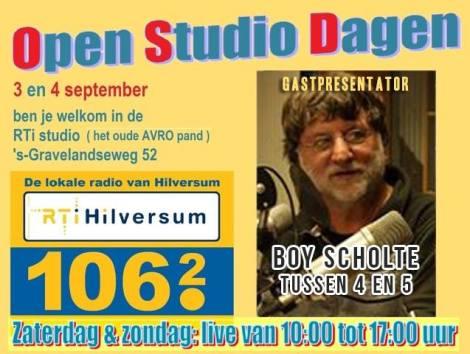 boy open studio dagen